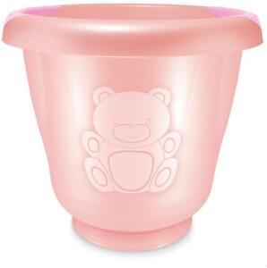 Ofurô para Bebê, Adoleta Bebê, Rosa Real   R$27