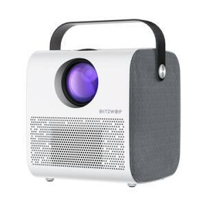 Projetor Blitzwolf® BW-VP5 LCD 3800 Lumens HD com Speaker + Controle Remoto | R$423