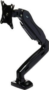 ELG F80N - Suporte para Monitor de Mesa, Preto | R$200
