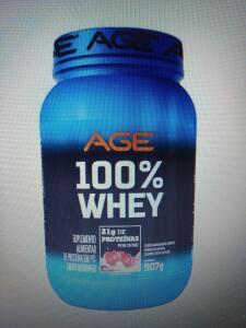 100% Whey Age morango 907g