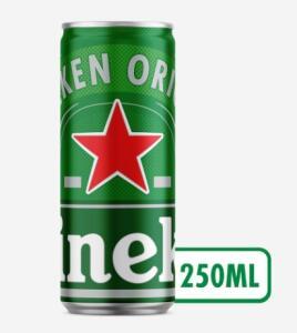 Cerveja HEINEKEN Lata 250ml - 2,49