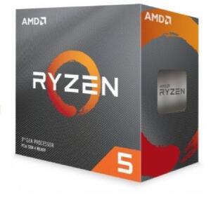 Processador AMD Ryzen 5 3600 3.6GHz (4.2GHz Turbo), 6-Cores 12-Threads, Cooler Wraith Stealth, AM4, 100-100000031BOX, S/ Video