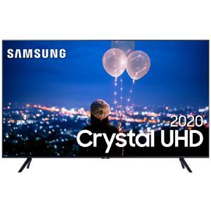"Smart TV Crystal 65"" 4K Samsung + Smart TV Crystal 50"" 4K Samsung - R$5.698"