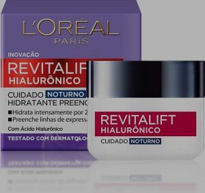 Creme Revitalift Hialurônico Noturno, L'Oréal Paris | R$ 41