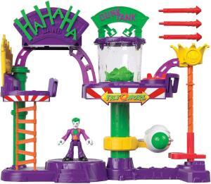 Coringa, Fábrica de Risadas, Imaginext, Mattel | R$180