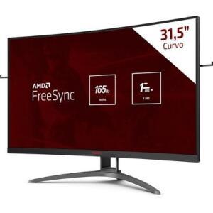 Monitor Gamer Agon 31.5'' Curvo 165hz VA | R$1.990