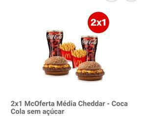 Mc Donalds 2 x 1 McOferta