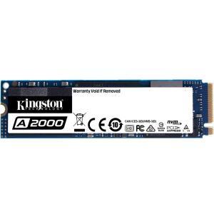SSD Kingston A2000, 250GB, M.2 NVMe, Leitura 2000MB/s, Gravação 1100MB/s - SA2000M8/250G | R$345