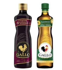 (RETIRADA) Kit Azeite de Oliva Gallo Clássico - 500ml + Vinagre Balsâmico de Modena 250ml - Magalu | R$ 28