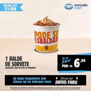[QR Mercado Pago] Balde de Sorvete R$7