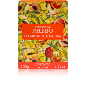 Sabonete Barra Nectarina da Andaluzia 100g - R$2,75