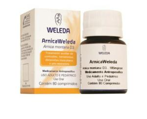 ARNICA WELEDA COM 80 COMPRIMIDOS | R$ 53