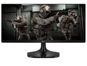 "Monitor LG Gamer UltraWide 25"" IPS Full HD 1ms MBR - 25UM58G-P.AWZ, Preto | R$ 970"