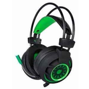 Headset Gamer DAZZ Diamond 7.1 HG9012 Preto/Verde | R$160