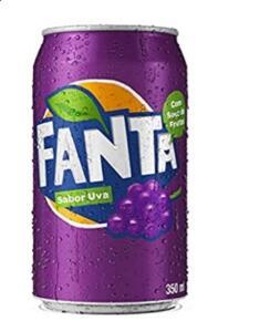 [Prime] Refrigerante Fanta Uva 350ml