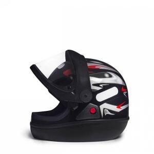 Capacete Para Moto San Marino Grafic Tamanho 58 Preto R$110
