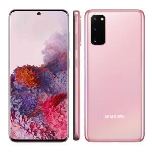 Smartphone Samsung Galaxy S20 - Cloud Pink R$3343 [R$3093 Cashback]