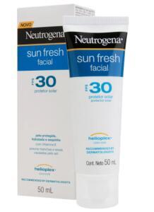 Protetor Solar Facial Neutrogena Sun Fresh FPS 30 50ml
