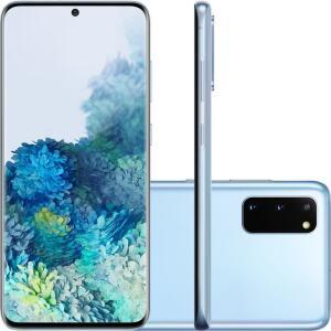 [AME R$3055] Smartphone Samsung Galaxy S20 - Cloud Blue | R$3.255