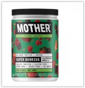 Mother Super Berries Welness Protein & Greens | R$ 70