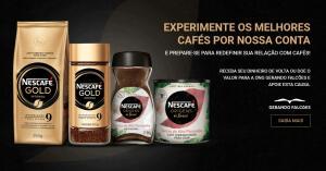 Ganhe até R$20,00 de volta na compra de Nescafé Gold e Origens do Brasil