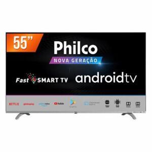 "Smart TV Philco PTV55Q20AGBLS DLED 4K 55""   R$1.999"