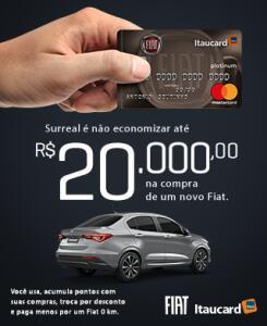 Cartão de crédito FIAT ITAUCARD