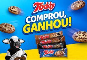Compre 4 Toddy Cookies e ganhe 1 mês de streaming de filmes/séries OU de música