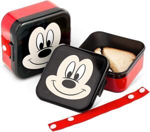 [Prime] Pote com Trava Disney - Lillo, Vermelho/Preto - Minnie ou Mickey | R$ 28