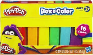 [Prime] Refil de Massinha Play-Doh - 16 Cores, Hasbro - 453g | R$ 19