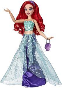 [Prime] Boneca Princesa Disney Style Series Ariel - E8397 - Hasbro   R$ 172