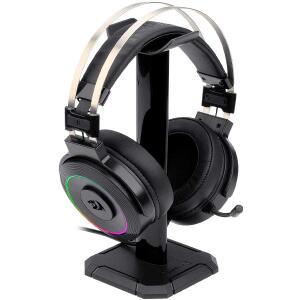 Headset Gamer Redragon Lamia H320 RGB, Surround 7.1, Preto   R$233