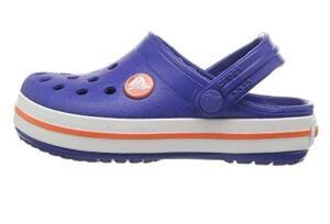 Sandália Crocband Kids, Crocs, Criança Unissex, Cerulean Blue, 24/25 | R$72