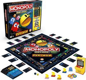 Jogo Monopoly Hasbro Arcade Pac-Man R$ 210