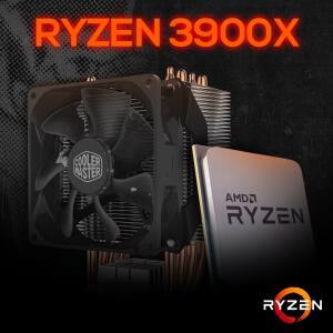 Kit Processador AMD Ryzen 9 3900x 3.8ghz + COOLER MASTER HYPER H412R R$ 3183