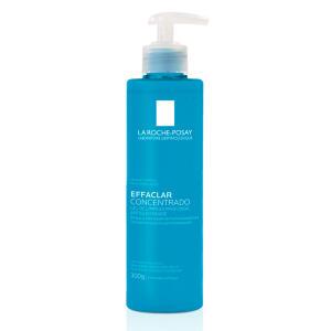 [2 unidades] Gel de Limpeza Facial Concentrado Peles Oleosas ou Acneicas La Roche-Posay Effaclar 300g | R$ 87