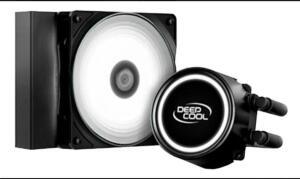 Water Cooler Deepcool 120 Gammaxx 120T Led White | R$ 249