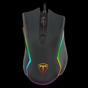 Mouse Gamer T-Dagger Second Lieutenant, RGB 8000 DPI, 8 Botões Programáveis, Black, T-TGM300   R$ 110