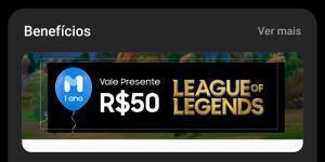 [Samsung Members] Vale presente de R$50 - League of Legends