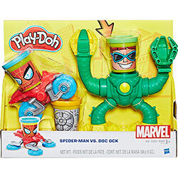 Conjunto Play-Doh Spiderman Vs Doc Ock - Hasbro | R$60