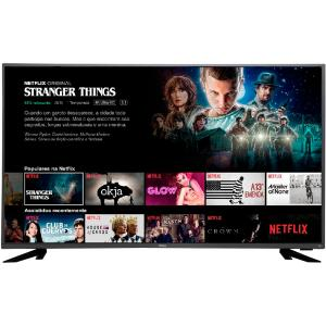 "Smart TV LED 43"" Philco PTV43f61DSWNT Ultra HD 4k"