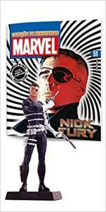 [PRIME] - Marvel Figurines. Nick Fury (Português) Capa comum – 15 novembro 2015