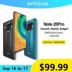 Smartphone Cubot Note 20 Pro NFC 128GB + 6GB | R$553