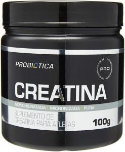 Creatina Monohidratada Pura - 100g, Probiótica