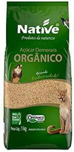 [PRIME] Açúcar Demerara Orgânico Native 1kg   R$3,99