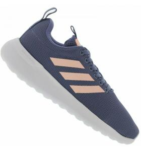 [TAM 34] Tênis Adidas Lite Racer Feminino Azul Escuro | R$73
