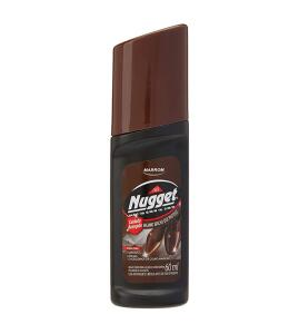 [PRIME] Polidor de Sapatos Líquido Marrom 60 ml, Nugget