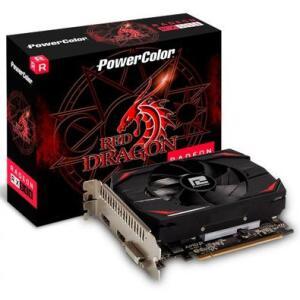Placa de Vídeo PowerColor, Radeon, RX 550 Red Dragon, 4GB, DDR5, 128Bit | R$590