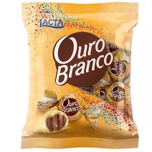 Chocolate Bombom Ouro Branco Pacote c/ 1kg - Lacta - R$ 30,50