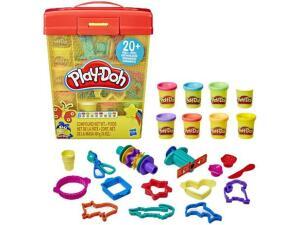 [Prime] Conjunto Play Doh Maleta com Acessórios - E9099 - Hasbro | R$ 110